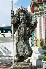 Old Statue in Wat Pho
