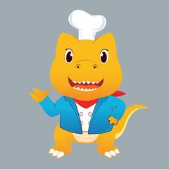 T-rex smile