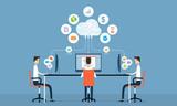 people social business on cloud