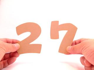ナンバー27