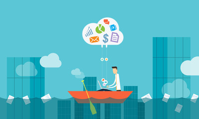 cloud business connection