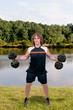 Man Lifting Weight