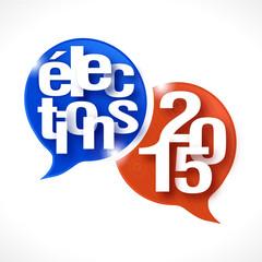 bulles rayées : élections 2015