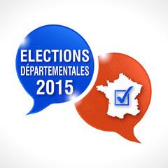 bulles rayées : élections départementales 2015
