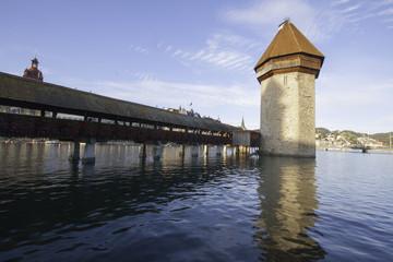 Chapel Bridge on the Reuss River