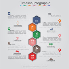 Infographics element web design layout. Vector