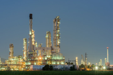 petrochemical industrial plant power station