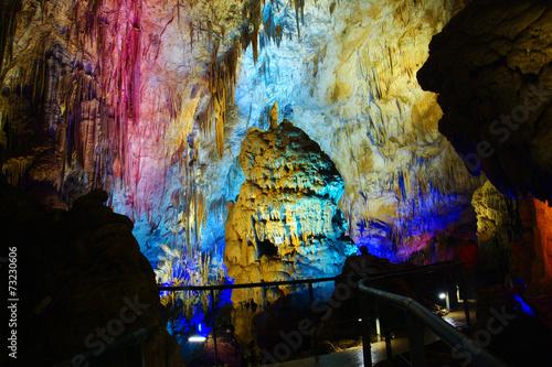 Prometheus Cave. Georgia. Sakartvelo
