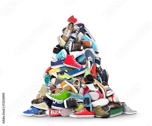 canvas print picture Sport shoes