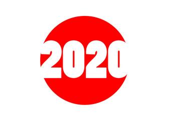2020 JAPAN. vector file
