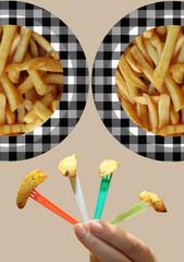 Frites  -  Pommes de terre Bio - Dégustation