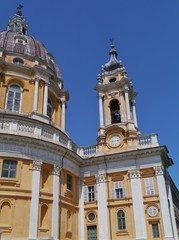The Basilica of Superga is a church in the vicinity of Turin