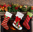 canvas print picture - Christmas stocking