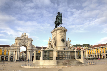 Statue of King John I- Lisbon
