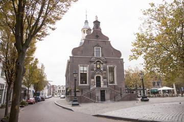 het oude stadhuis in Schiedam