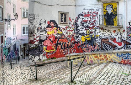 Street Art - Lisbon Poster