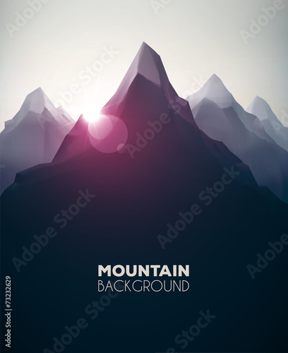 Mountain Background - 73232629