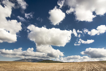 Arid countryside