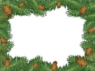 frame of pine