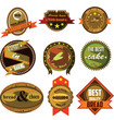 bakery badges and labels