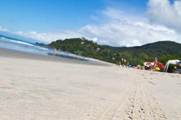 Barra do Sahy blurred background