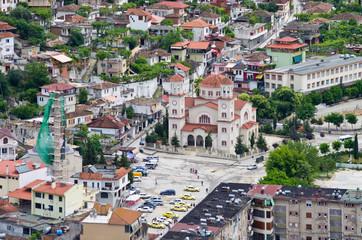 Orthodox church in Berat, Albania