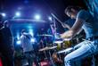 Drummer. Warning - Focus on the drum