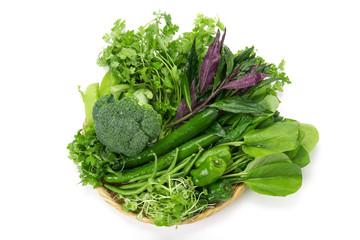 緑黄色野菜集合
