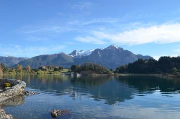 shore of Lake Nahuel Huapi, Patagonian Andes, Bariloche