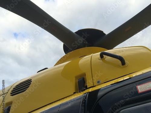 canvas print picture Hubschrauber