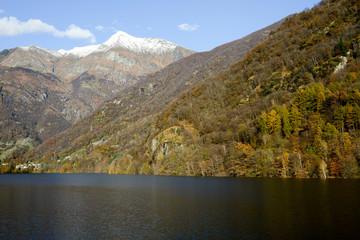 Mountains at Verzasca valley