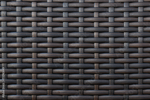 Part of the artificial material braided dark tone. - 73240849