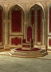 Fairytale Throne Room