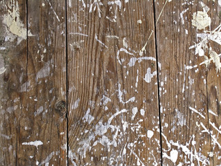 Wooden texture with white spots