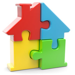 neues puzzlehaus