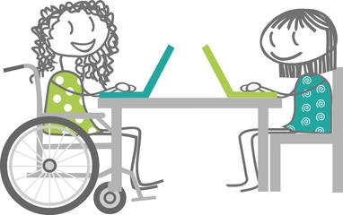 handicap et travail