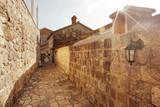 Fototapety Street in an old European city