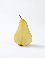 Half of Bosc pear