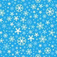Seamless background snowflakes 6