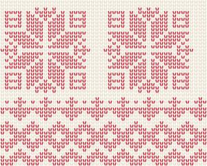 Seamless knitted background - illustation