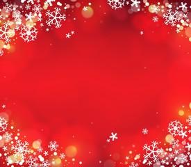 Snowflake theme background 7