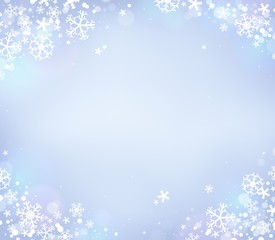 Snowflake theme background 8
