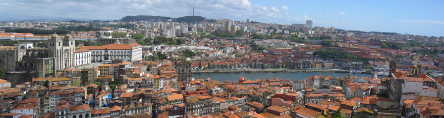 Porto Luftaufnahme (Porto aerial shot) Panorama