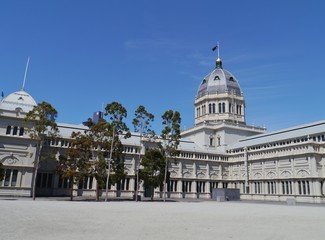 The Royal Exhibition Building in Melbourne in Australia