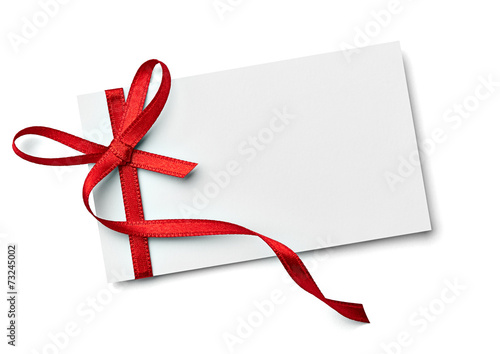 canvas print picture ribbon bow card note chirstmas celebration greeting