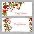 invitation cards with a Christmas pattern for your design