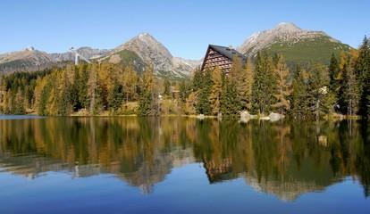 Autumn mountains, the Slovak High Tatras