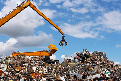 usine de recyclage - 73247092