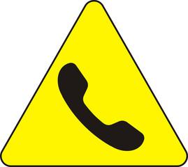 Achtung, telefon