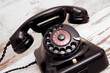 canvas print picture - Altes Telefon